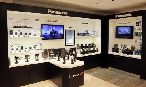 Buy Panasonic Digital Cameras with wide-angle lens, HD video recording, MOS sensor, optical image stabilizer and increased digital zoom.